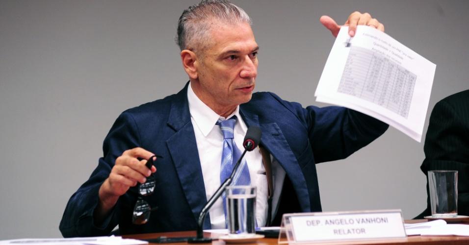 O deputado Angelo Vanhoni (PT-PR)