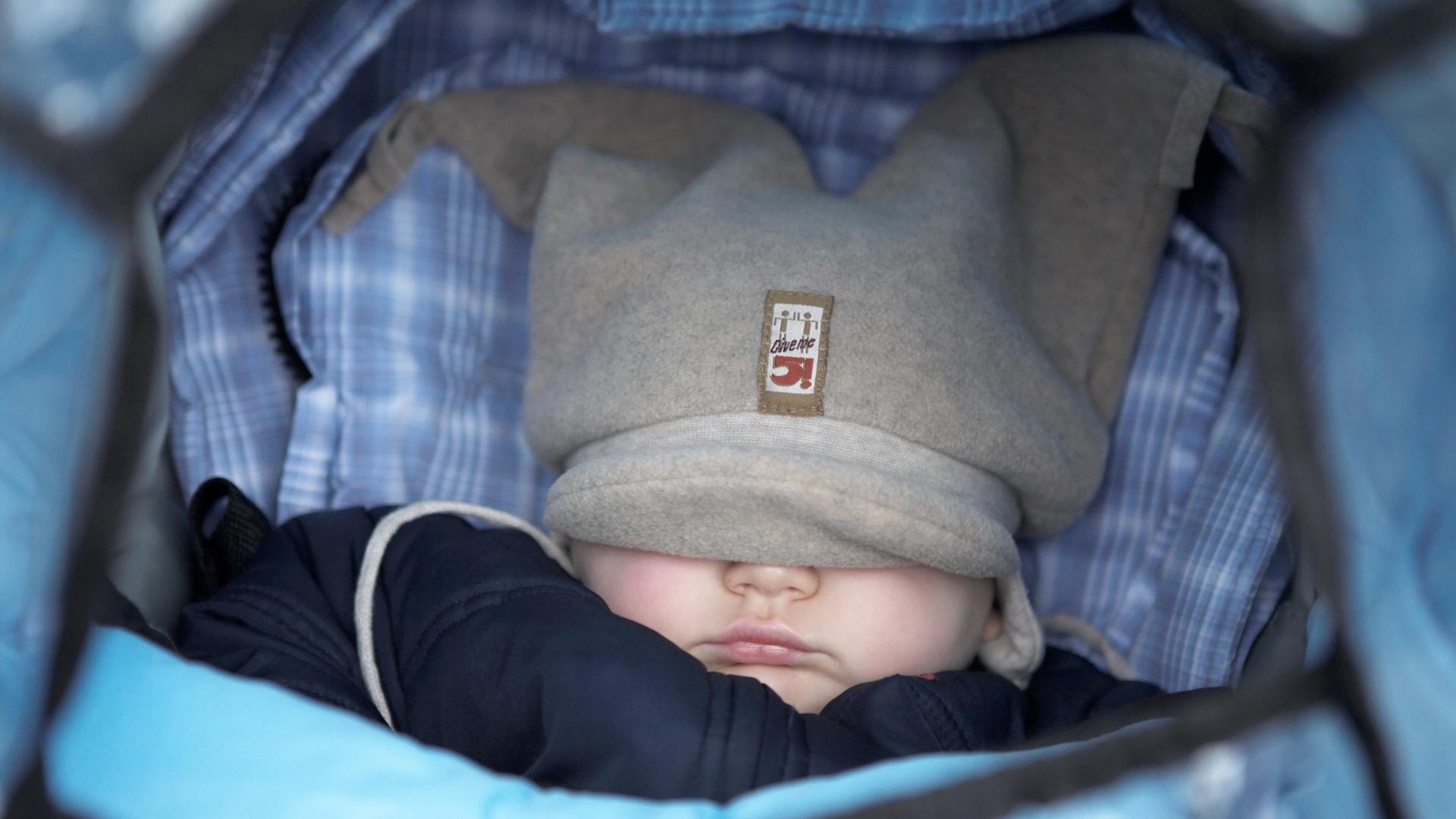 temperatura corpo bebe dormindo