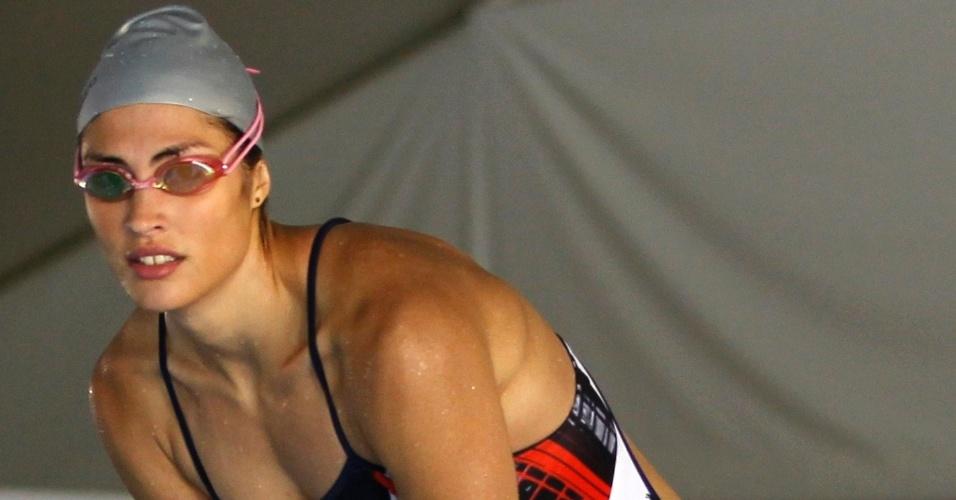 Elodie Clouvel superou seu medo de cavalos e agora tem a 2ª chance para chegar às Olimpíadas, agora no pentatlo moderno