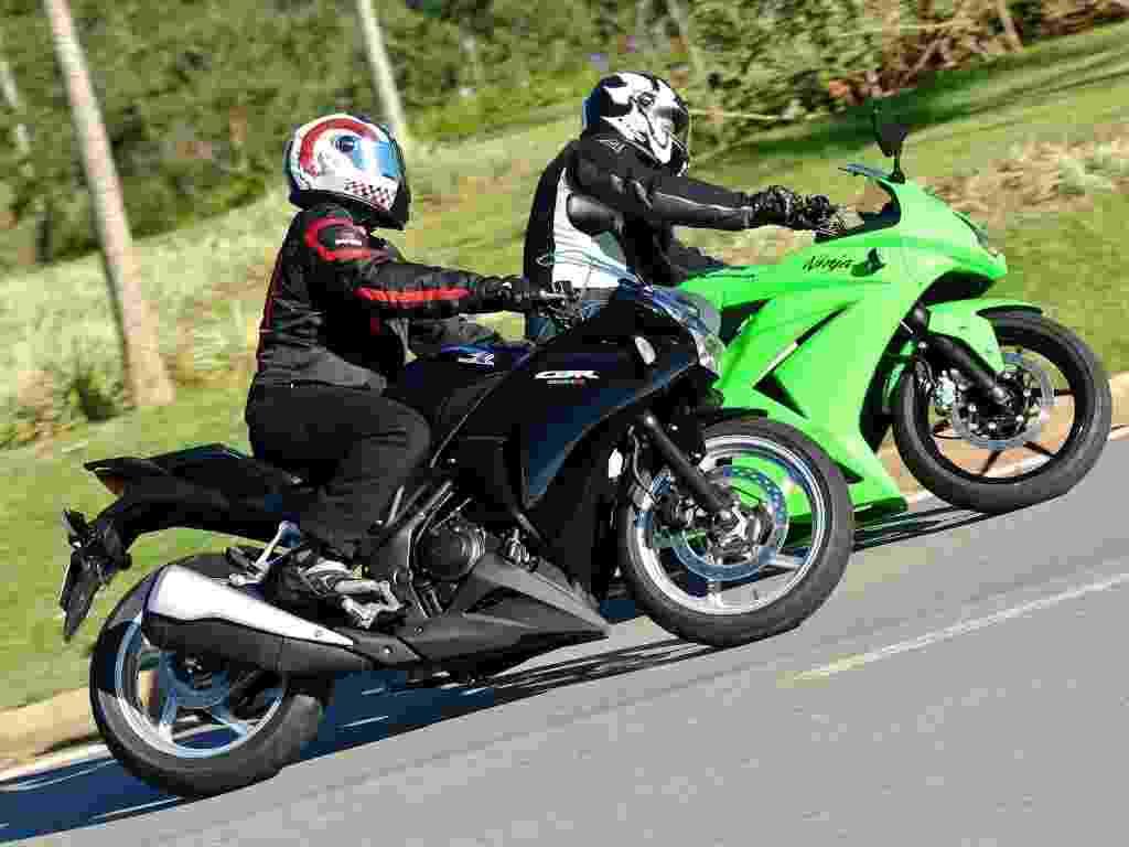 Honda CBR 250R e Kawasaki Ninja 250R são fabricadas na Tailândia e têm sobrenome Racing; ambas são montadas em Manaus (AM) - Doni Castilho/Infomoto