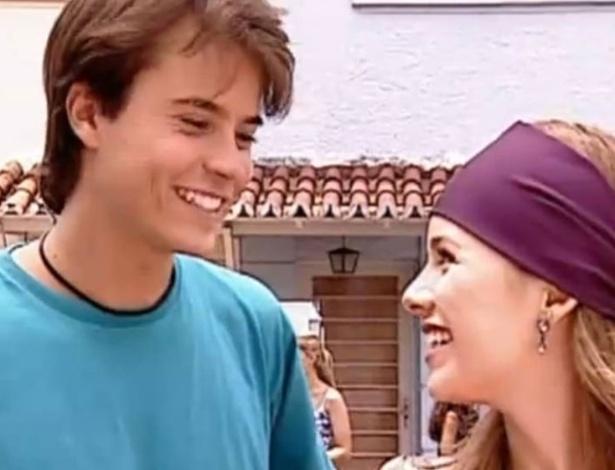 Sandy, quando ainda era mocinha, namorava o então galãzinho Paulinho Vilhena