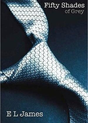 """Capa do livro """"Fifty Shades of Grey"""", de E. L. James - Reprodução"""
