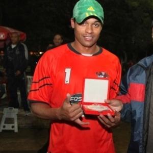 Goleiro Jaderson, do Pedreira, foi destaque da final e o menos vazado da Copa Kaiser RS (03/06/12)