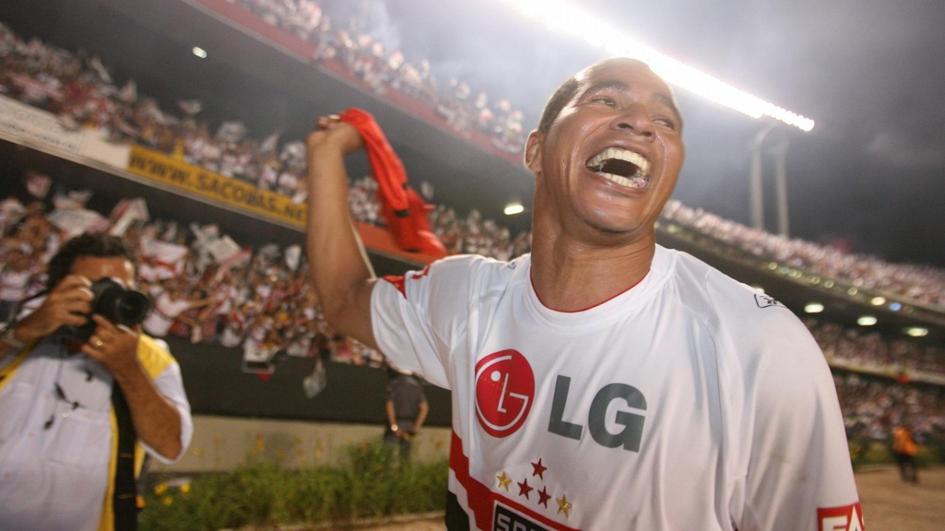 Aloísio Chulapa durante a sua passagem pelo São Paulo