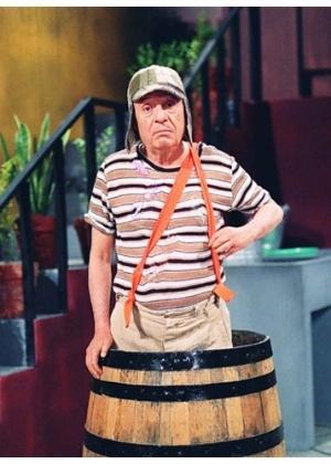 "Roberto Gómez Bolaños como ""Chaves"" - Reprodução"