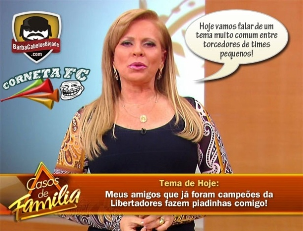 Corneta FC: Corinthians vira tema do