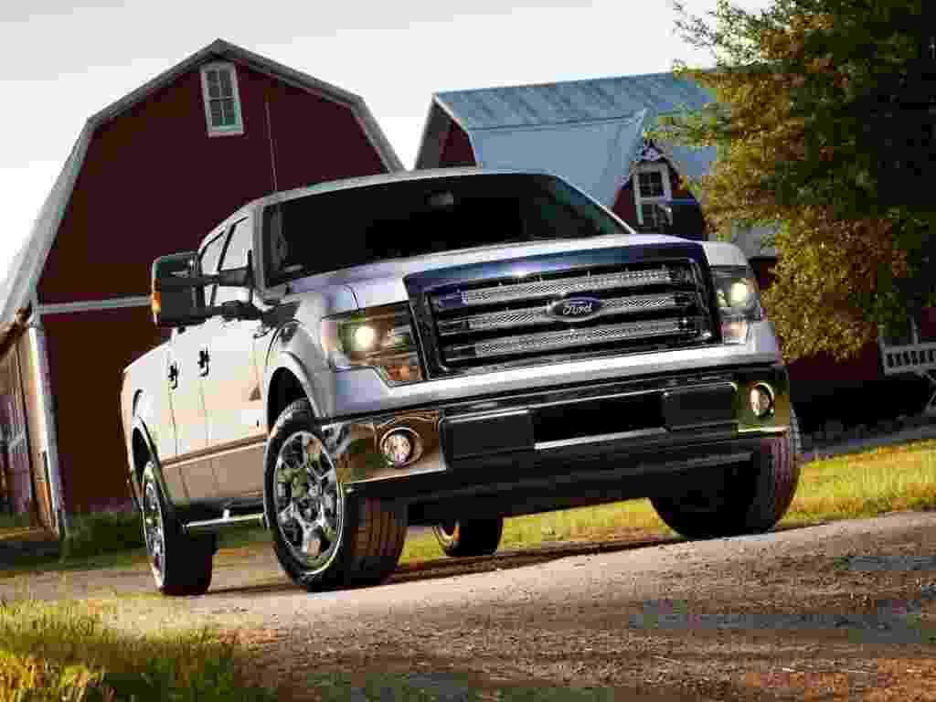 Ford apresenta a linha 2013 de sua picape F-150, modelo mais vendido nos Estados Unidos - Divulgação