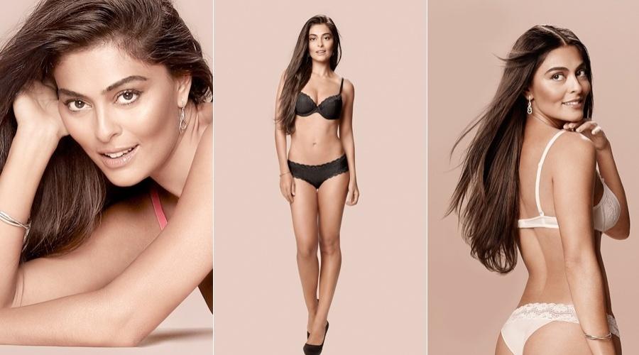 """Juliana Paes posou para a nova campanha da marca de lingerie """"Hope"""" (4/6/12)"""