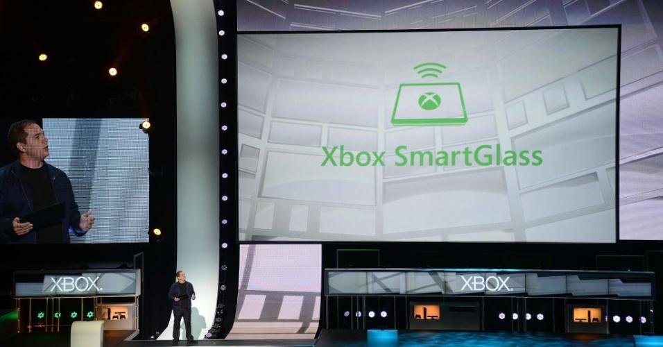 O SmartGlass permite que partes do jogo como sejam compartilhadas com tablets e smartphones