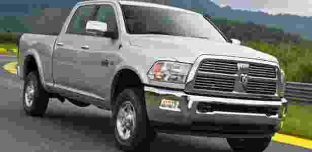 Ram 2500, também vendida no Brasil, compõe linha que puxa vendas da Chrysler nos EUA - Divulgação