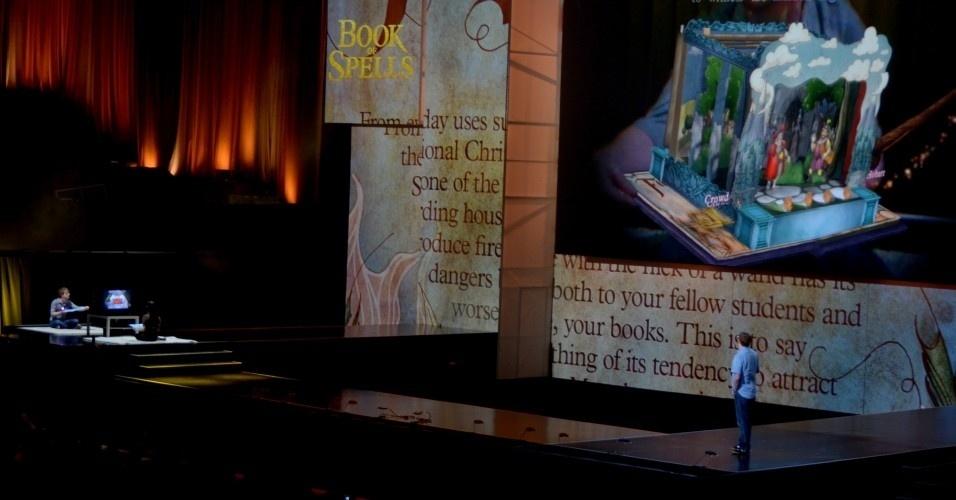 A Sony anunciou um aplicativo de livro de história interativo, o