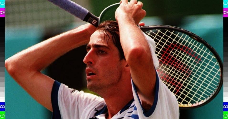 Brasileiro Fernando Meligeni ficou perto do bronze olímpico nos Jogos de Atlanta em 1996