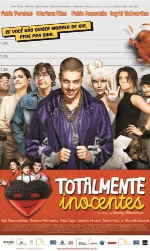 """Cartaz oficial do filme """"Totalmente Inocentes"""", com Fábio Assunção e Mariana Rios, é divulgado"""