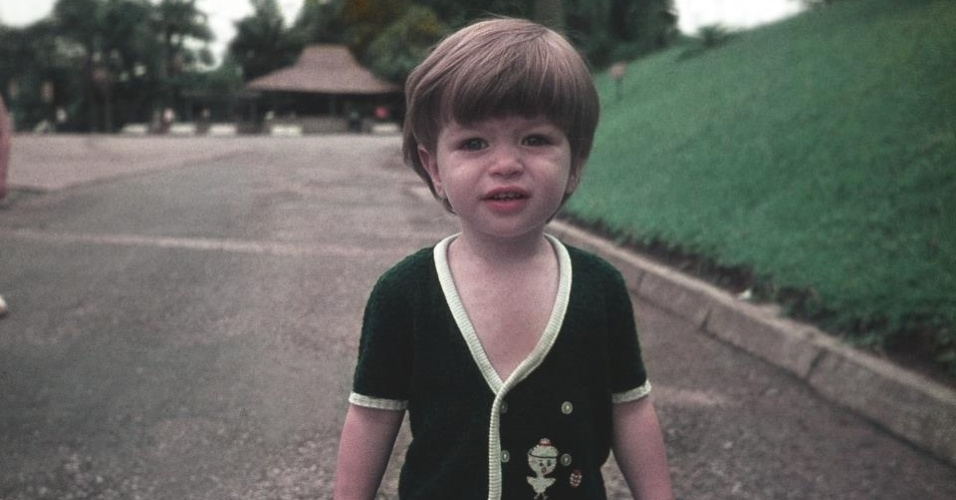 Fábio Assunção divulga foto de quando era criança (4/6/2012)