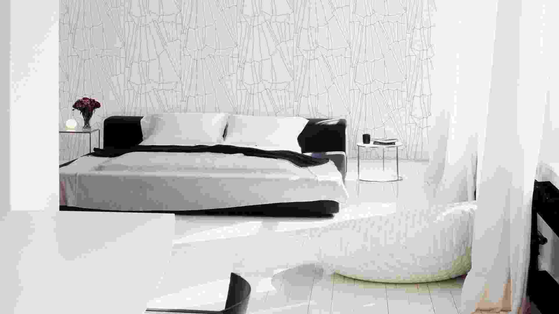 O papel de parede da coleção Olivier Strell está à venda na Wallpaper (www.wallpaper.com.br) por R$ 356 (o rolo de 10 m com 53 cm de largura). Preços pesquisados em maio/junho de 2012 e sujeitos a alterações - Divulgação
