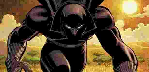 Personagem Pantera Negra vai ganhar filme dos estúdios Marvel - Reprodução/Marvel