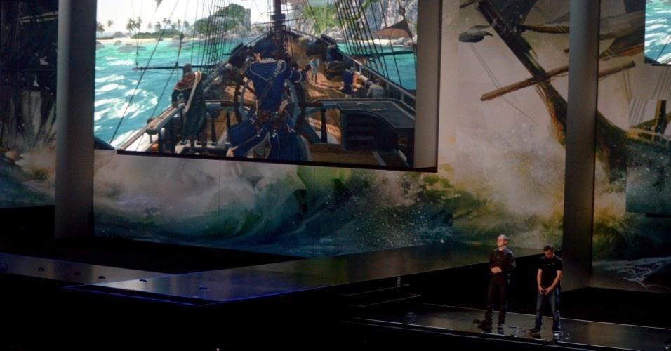 Ubisoft demonstra uma impressionante fase de batalha naval em