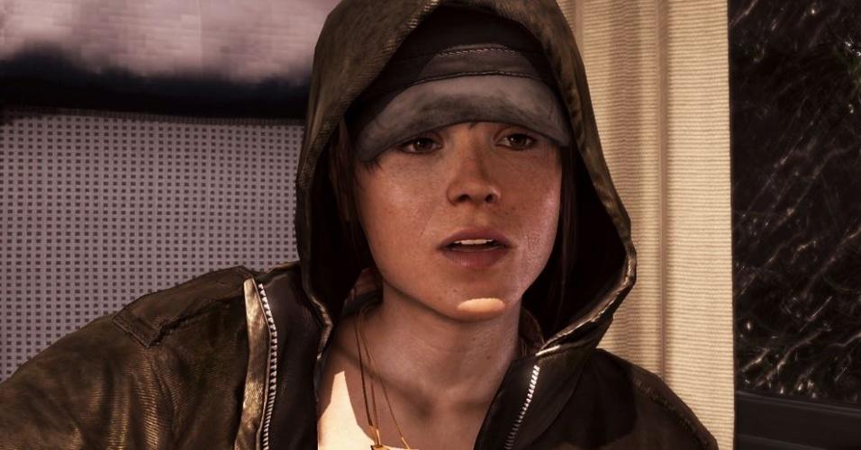 """""""Beyond"""" é jogo do criador de """"Heavy Rain"""" estrelado pela atriz Ellen Page"""