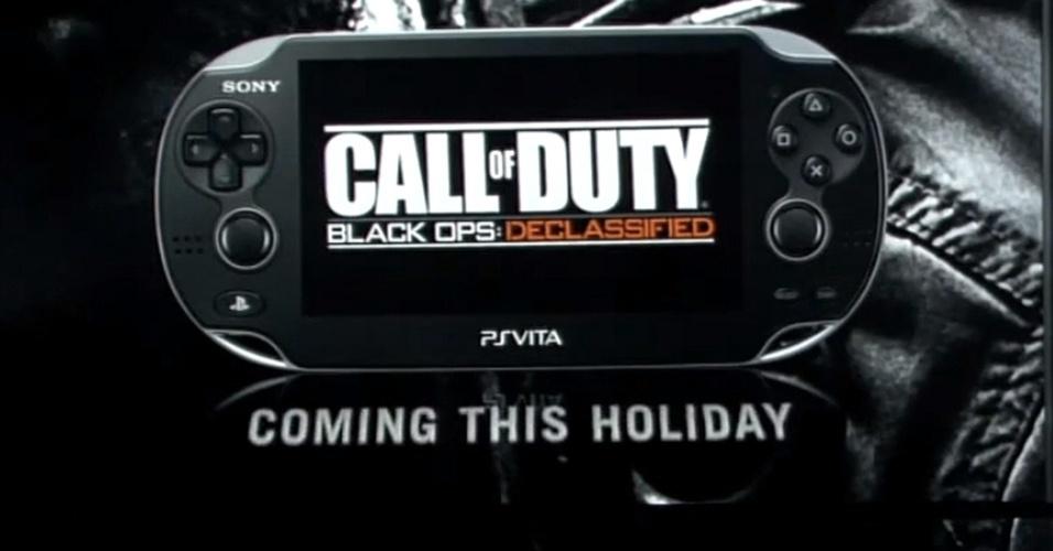 """""""Call of Duty Black Ops: Declassified"""" promete transportar tiroteios da série ao PS Vita"""