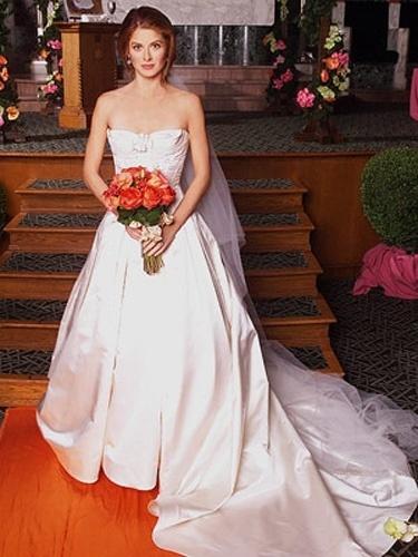 Casamento de Grace Adler (Debra Messing) na série
