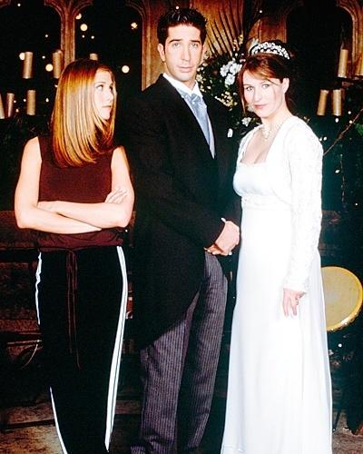 Casamento de Helen Baxendale com David Schwimmer na série