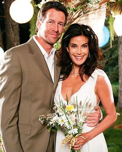 Casamento de James Denton com Teri Hatcher em
