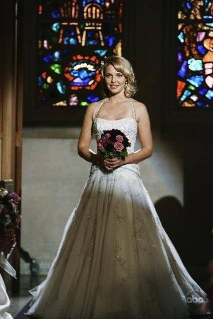 Casamento da Dr. Izzie Stevens (Katherine Heigl) na série