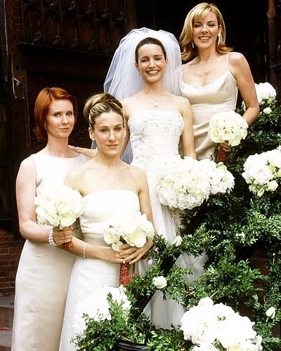 Casamento de Charlotte York (Kristin Davis) na série