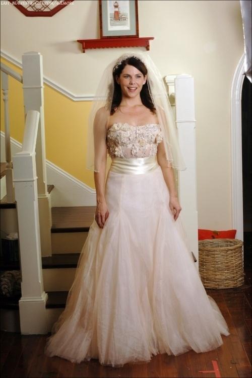 Casamento de Lorelai Gilmore (Lauren Graham) na série
