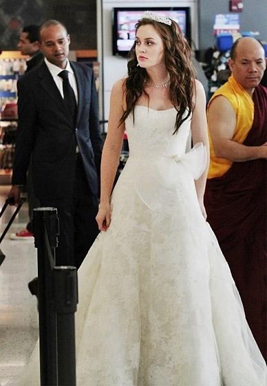 Casamento de Blair Waldorf (Leighton Meester) na série