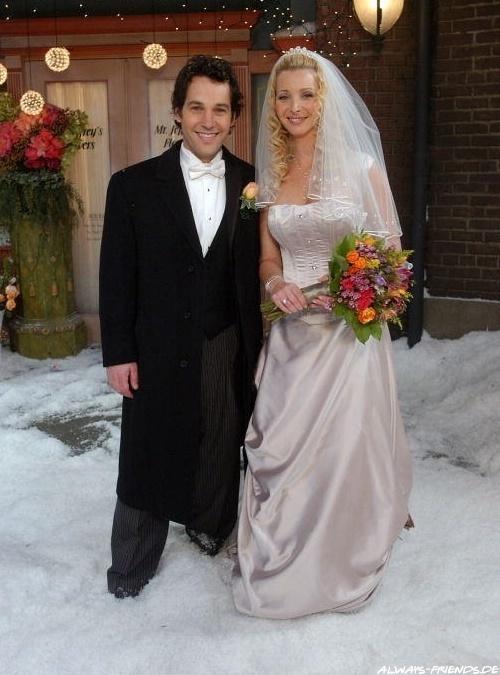 Casamento de Lisa Kudrow e Paul Rudd na série