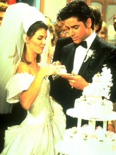 Casamento de Lori Loughlin e John Stamos na série
