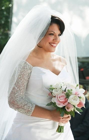 Casamento da Dr. Callie Torres (Sara Ramirez) na série