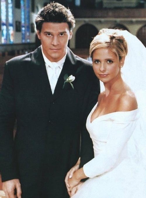 Casamento de Sarah Michelle Gellar na série