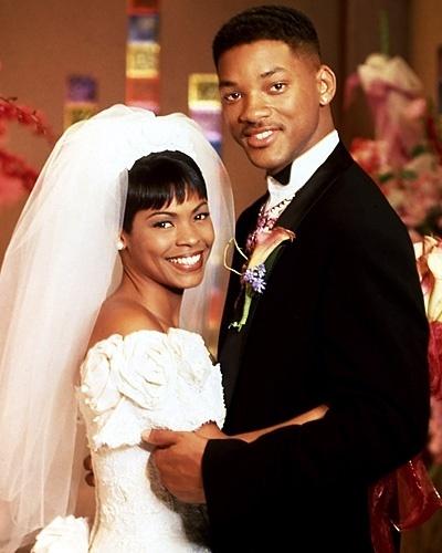 Casamento de Will Smith e Nia Long na série