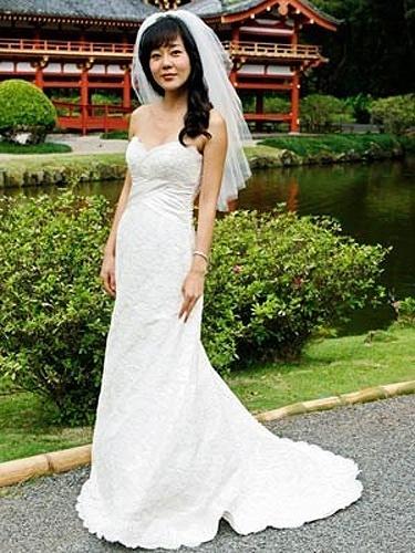 Casamento de Yunjin Kim na série