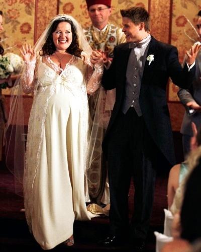 Casamento de Dorota (Zuzanna Szadkowski) na série