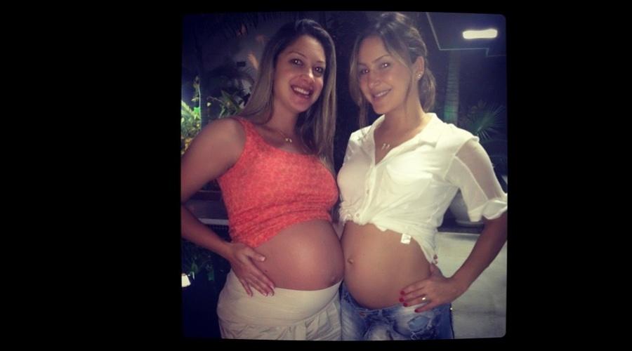 Claudia Leitte exibiu a barriga de sete meses de gravidez (6/6/12)