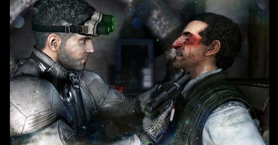 """Com suporte ao kinect, """"Splinter Cell: Blacklist"""" leva o herói Sam Fischer ao Iraque"""
