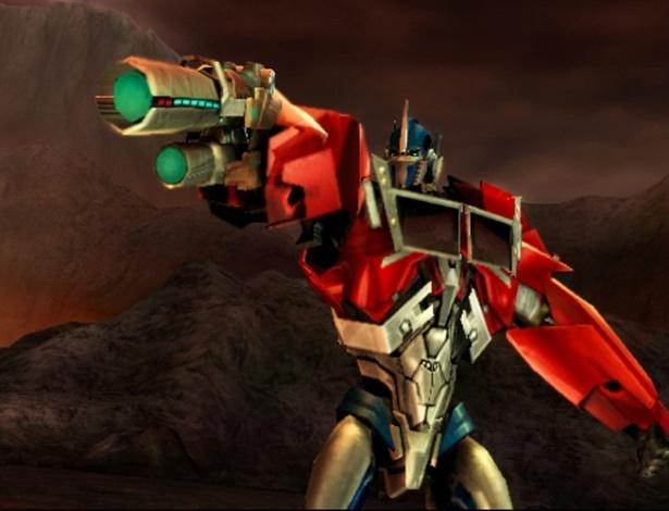 """Decepticons e Autobots se enfrentam novamente em """"Transformers: Prime - The Game"""""""