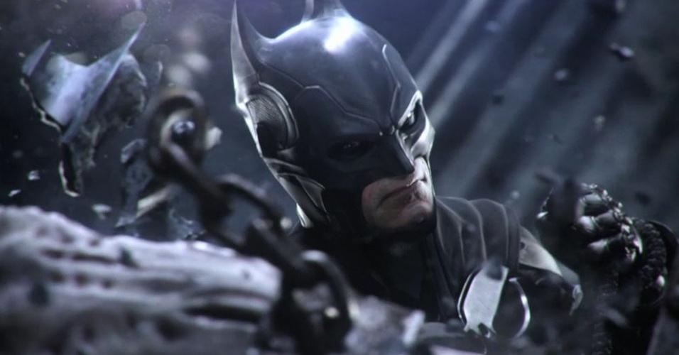 """Dos criadores de """"Mortal Kombat"""", """"Injustice"""" é jogo de luta com heróis da DC Comics"""