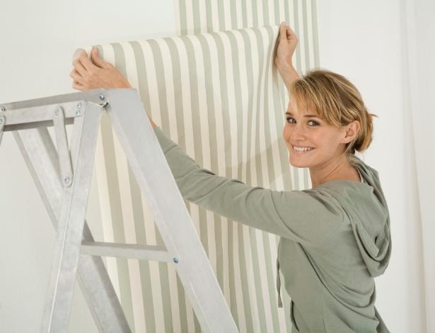 Papéis e tecidos para a parede são opções para a personalização de ambientes e uma alternativa à pintura - Getty Images