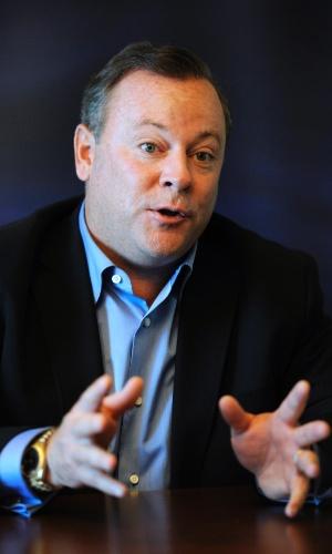 Jack Tretton, presidente da divisão americana da Sony, concedeu entrevistas aos jornalistas na E3 2012