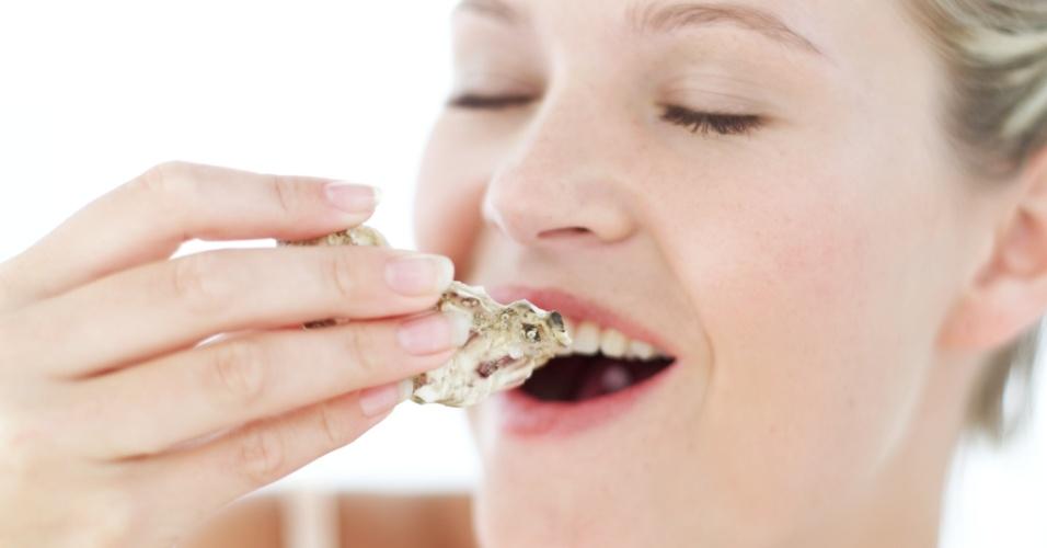 jovem come uma ostra