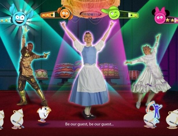"""""""Just Dance: Disney Party"""" é game musical com canções de sucesso da Disney"""