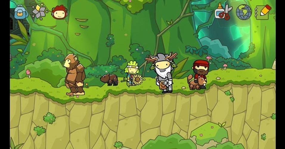 """Original do DS, """"Scribblenauts"""" terá versão para Wii U e 3DS"""