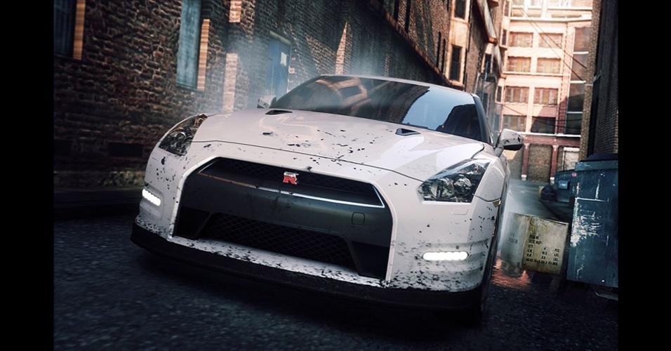 """Rachas em mundo aberto são tema central de """"Need for Speed: Most Wanted"""""""