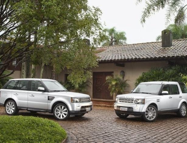 Range Rover Sport e Land Rover Discovery 4 recebem upgrade de potência e novo câmbio - Divulgação