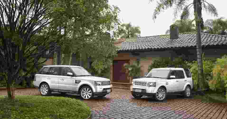 Range Rover Sport e Land Rover Discovery 4 recebem upgrade de potência e câmbio automático de oito marchas - Divulgação