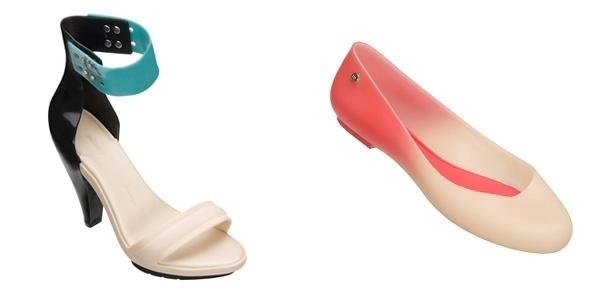 Sandálias criadas por Pedro Lourenço para a Melissa - Divulgação